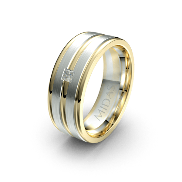QF1092D Men's Wedding Band