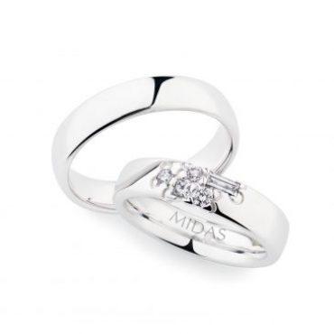 0244758 Women's & 0280134 Men's Wedding Bands