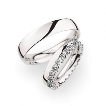 0246734 Women's & 0270957 Men's Wedding Bands