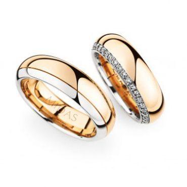 0246855 Women's & 0274243 Men's Wedding Bands