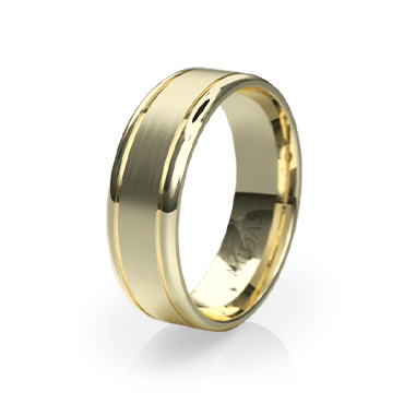 QF1023 Men's Wedding Band