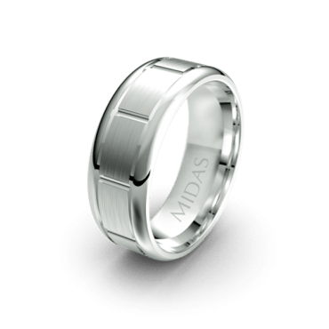 QF1108 Men's Wedding Band