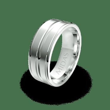 QF1147 Men's Wedding Band