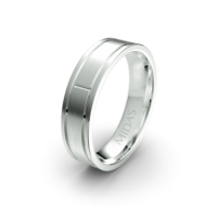 Traditional Band with Side and Middle Detailing (QF1207)