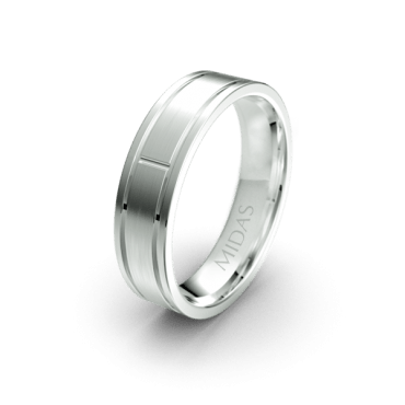 QF1207 Men's Wedding Band