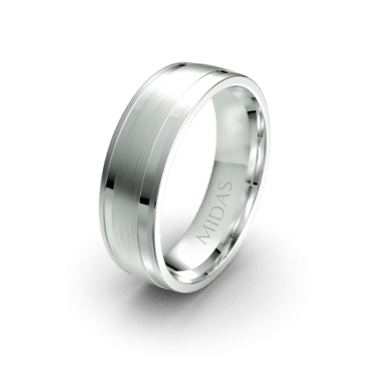 QF1390 Men's Wedding Band