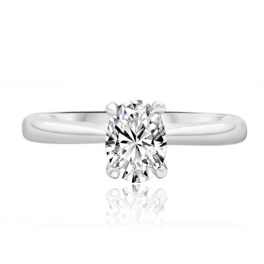 Oval Solitaire Engagement Ring