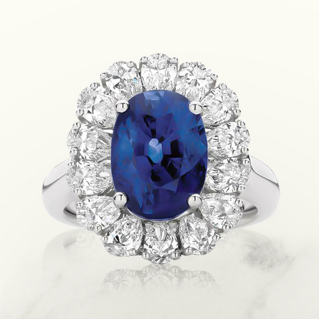 What are blue sapphires used for?
