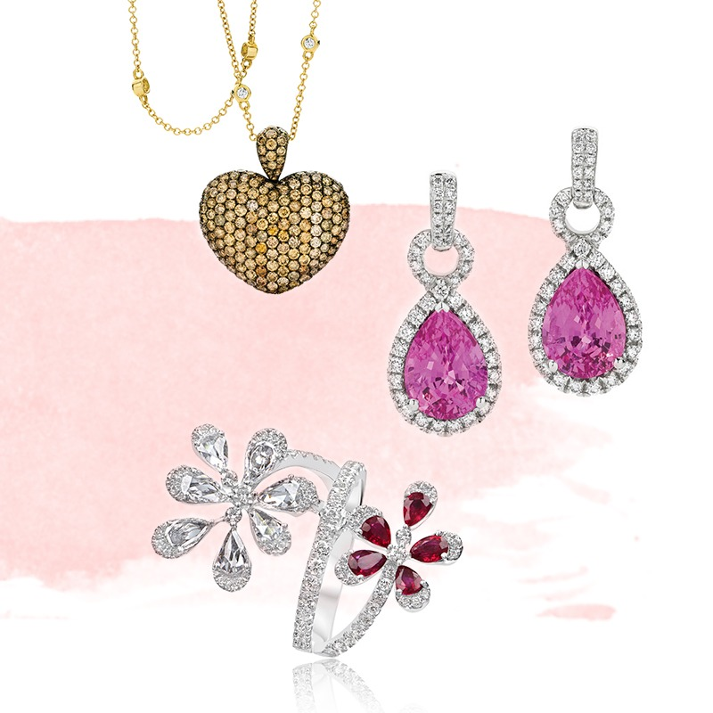 Bespoje jewellery pieces