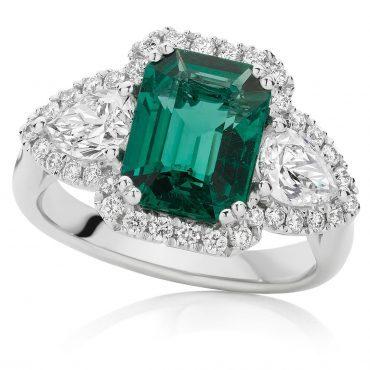 Intense Green Emeraldals