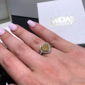Adding colour to your engagement ring