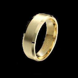Yellow Gold - QF1382 Men's Wedding Band
