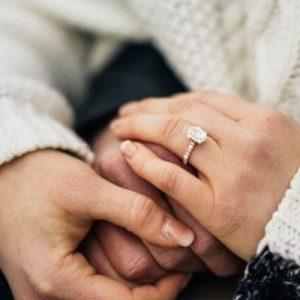 Customised engagement ring