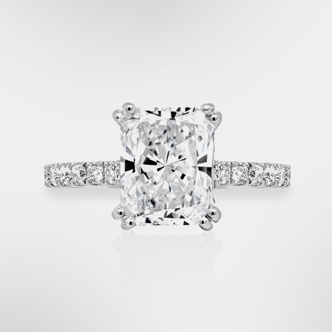 Customise Your Radiant Cut Diamond Ring