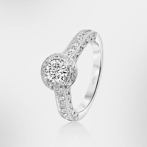 Customise Your Round Cut Diamond Ring