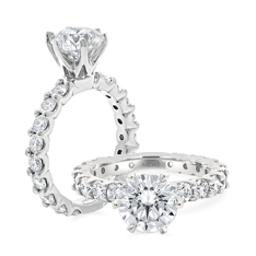 Brilliant Solitaire Claw Set Engagement Ring