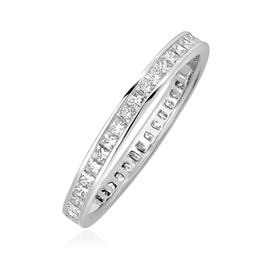 Princess Channel Eternity Band