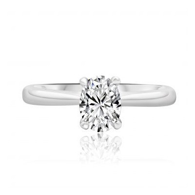 Our collection of white gold engagement rings