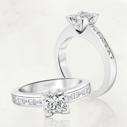 How to customise your princess cut diamond engagement ring
