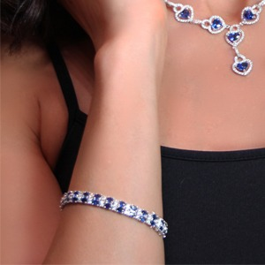 Introduce blue to your wrist with a bracelet