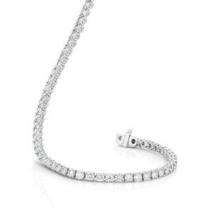 Diamond White Gold Tennis Bracelet