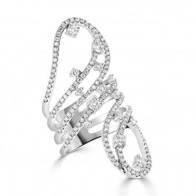 Fancy Twirl Dress Ring
