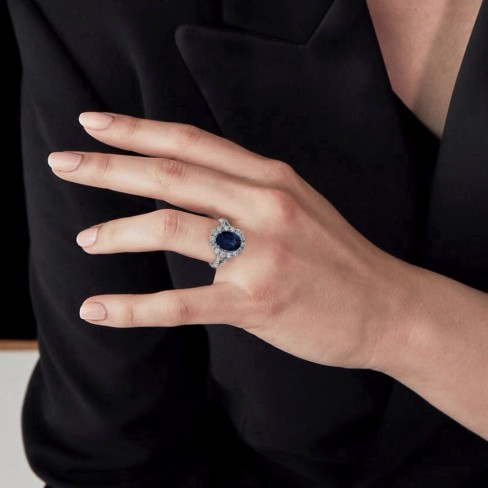 What is special about blue sapphires?