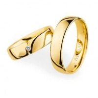 0020050 Women's & 0020050 Men's Wedding Bands