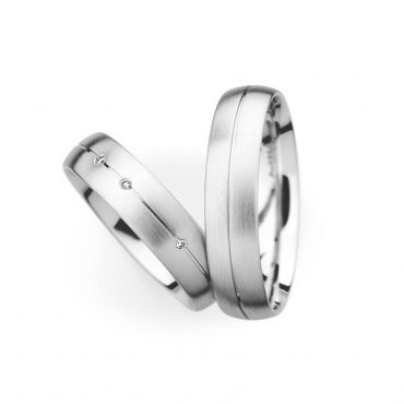 0034050 Women's & 0034050 Men's Wedding Bands