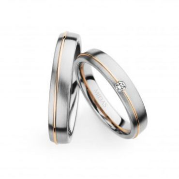 0241270 Women's & 0273621 Men's Wedding Bands