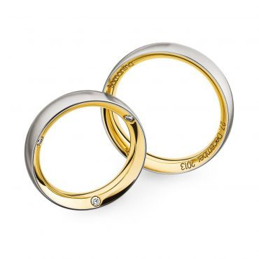 0243584 Women's & 0273988 Men's Wedding Bands