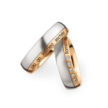 0244576 Women's & 0273654 Men's Wedding Bands