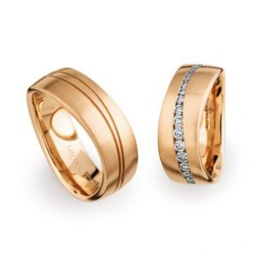 0246801 Women's & 0274116 Men's Wedding Bands