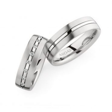 0246829 Women's & 0274173 Men's Wedding Bands