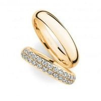 0246948 Women's & 0280097 Men's Wedding Bands