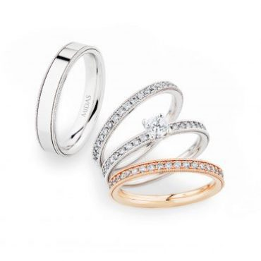 0246957 Women's & 0274451 Men's Wedding Bands