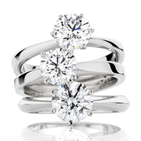 Brilliant Diamond Solitaire