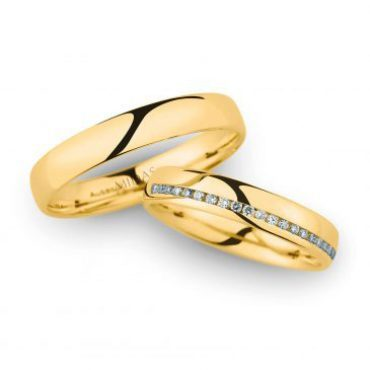 246964 Women's & 20040 Men's Wedding Bands