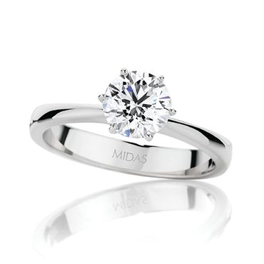 Dazzling Round Brilliant Cut Solitaire