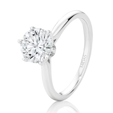 Round Brilliant Diamond Cut Engagement Ring