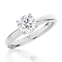 Classic Brilliant Solitaire Engagement Ring