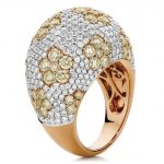 Stunning Diamond and Rose Gold Ring