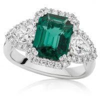 Intense Green Emerald