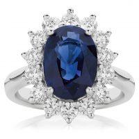 Sapphire and Diamond Sun Halo