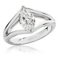 Marquise Cut Diamond Solitaire