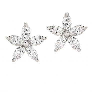 Elegant Set with Marquise Diamond