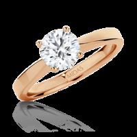 Classic Brilliant Solitaire Engagement Ring