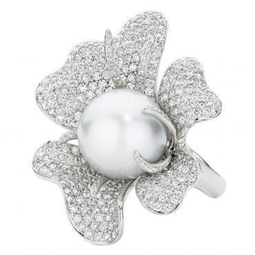 Ocean Flower Ring