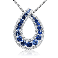 Royal Sapphire Tear
