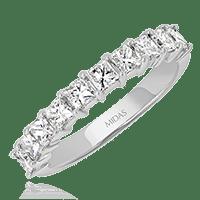 Princess Claw Wedding Band